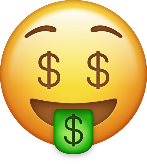emoji fazil card money