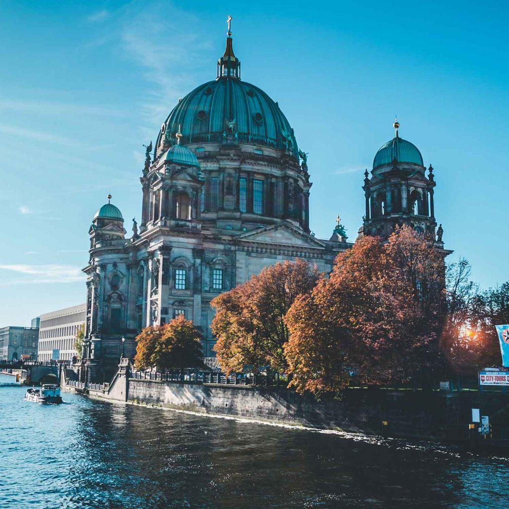 Catedral de Berlin en Alemania Europa