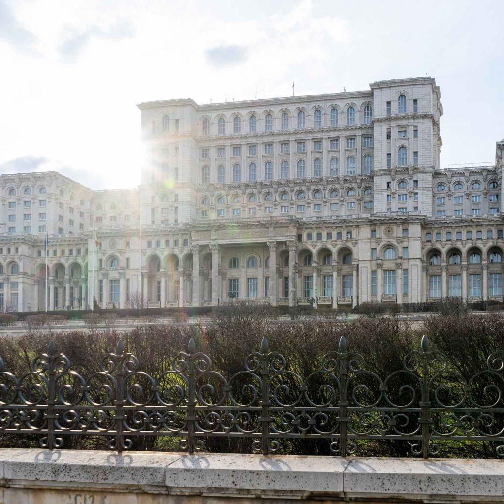 Parlamento en Bucarest Romania Europa