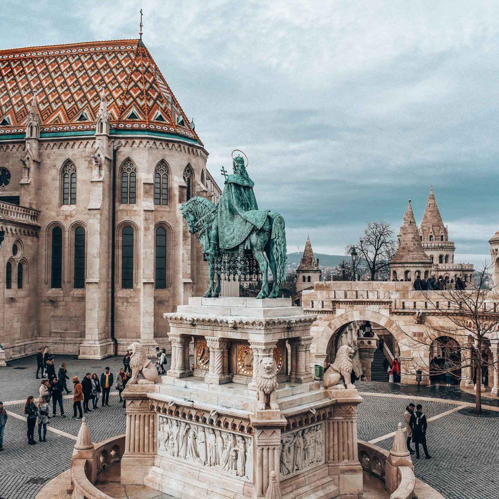 Castillo de Buda en Budapest Hungria Europa