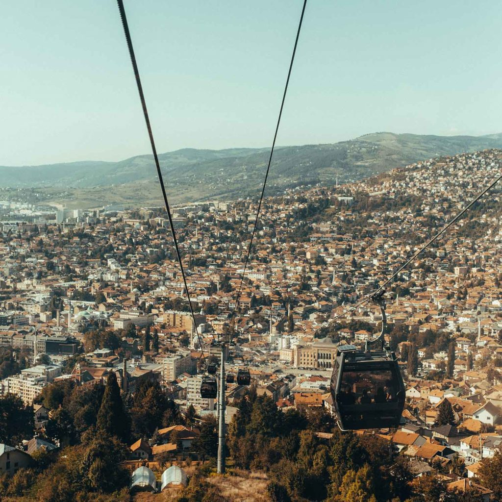 Sarajevo en Bosnia y Herzegovina Europa