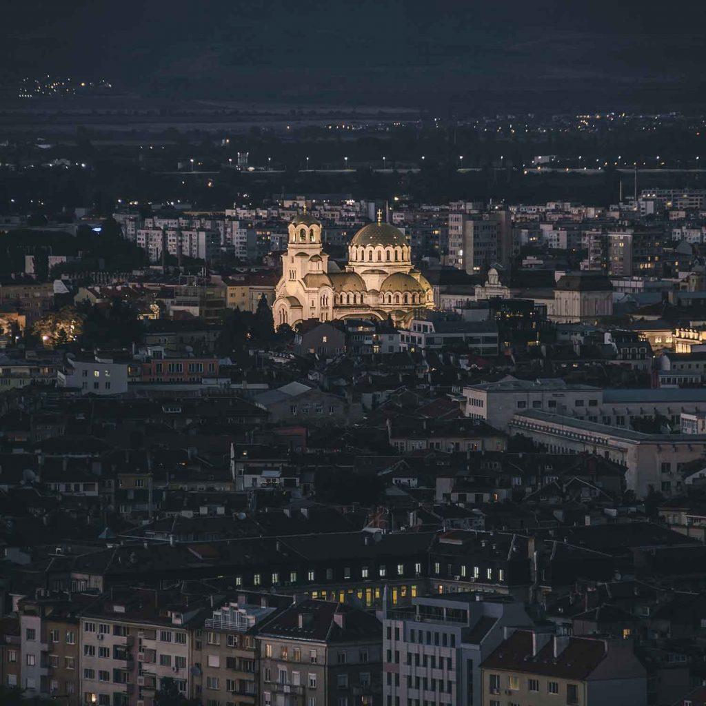 Catedral Alejandro Nevsky en Sofia Bulgaria Europa
