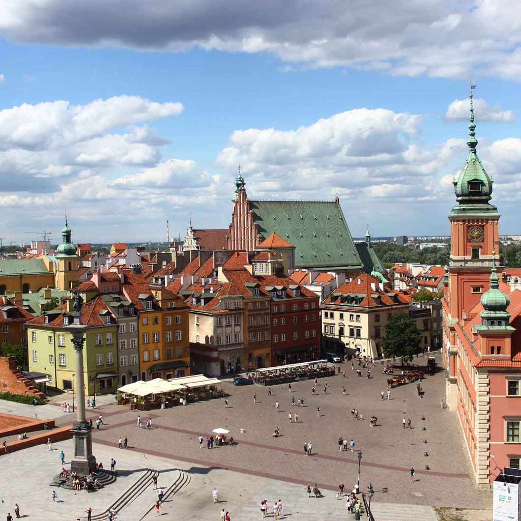 Varsovia Polonia ciudades de Europa mas baratas
