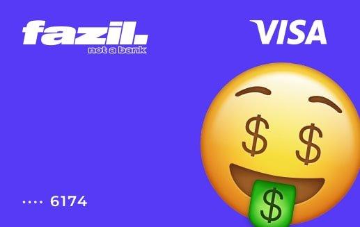 Tarjeta Fazil Visa