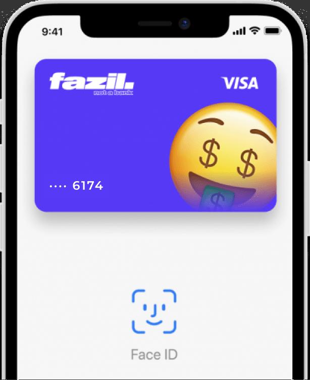Tarjeta Fazil Apple Pay
